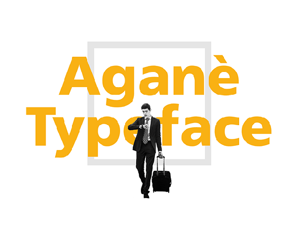Aganè Typeface Font