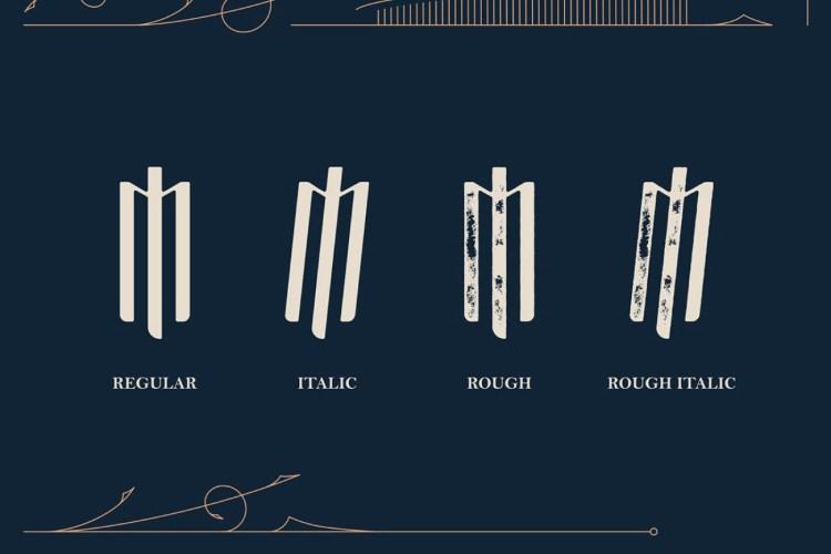 Masquerouge Victorian Font | Font Slots