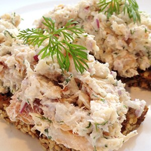 Trout rillettes
