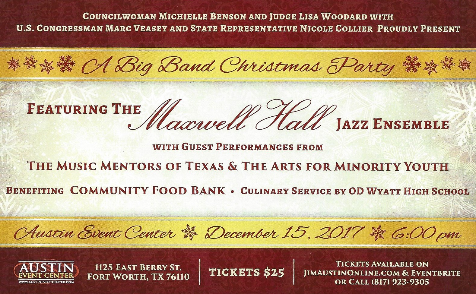 Big Band Christmas Party