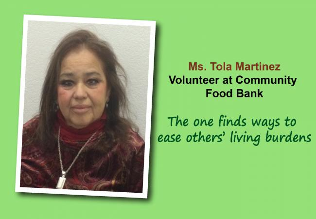 Volunteer Profile: Ms. Tola Martinez