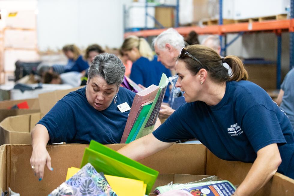 Volunteer Profile: All Saints' Episcopal School