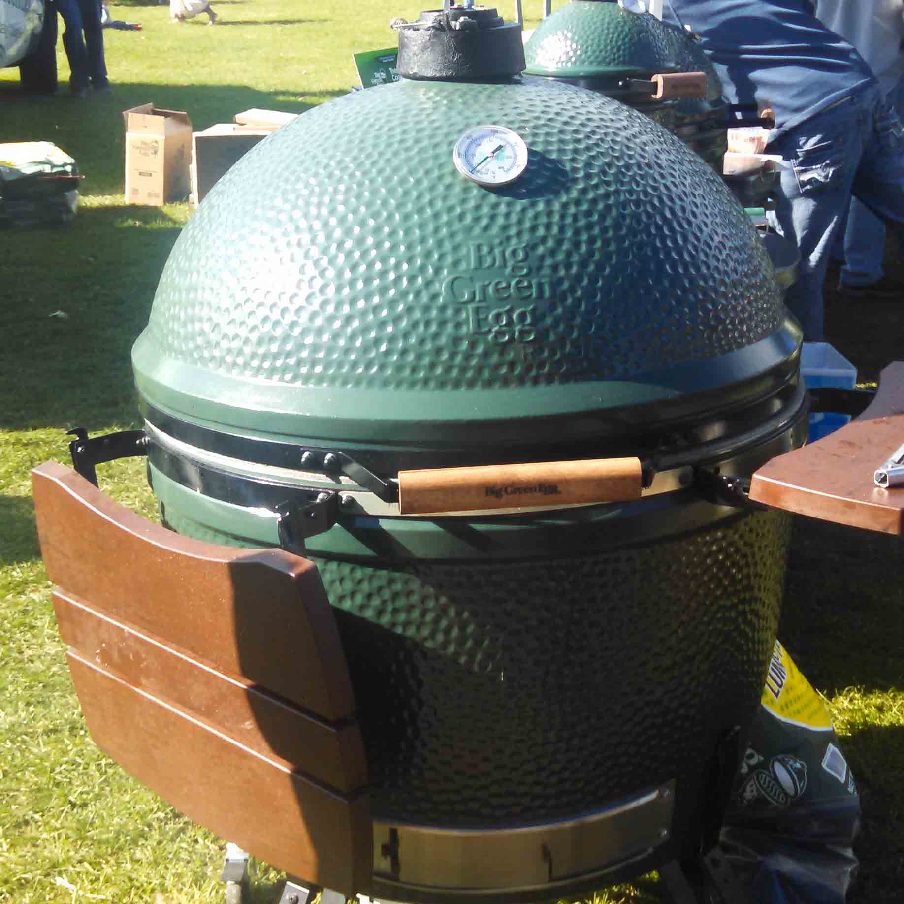 xxl big green egg food fire. Black Bedroom Furniture Sets. Home Design Ideas