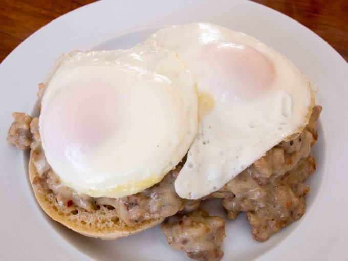 Eggs and Sausage Gravy