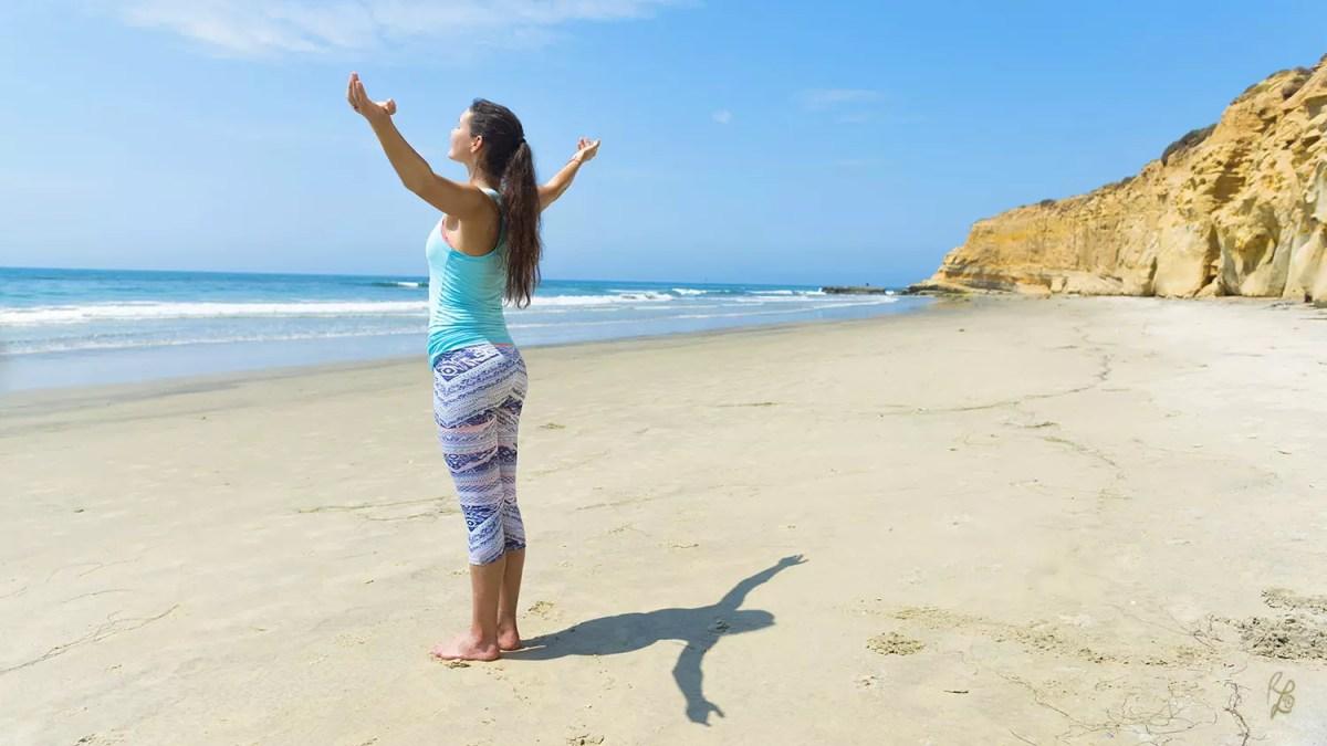 Glück hat viele Facetten – für mich kommen im Urlaub viele Faktoren zusammen, die mich glücklich machen