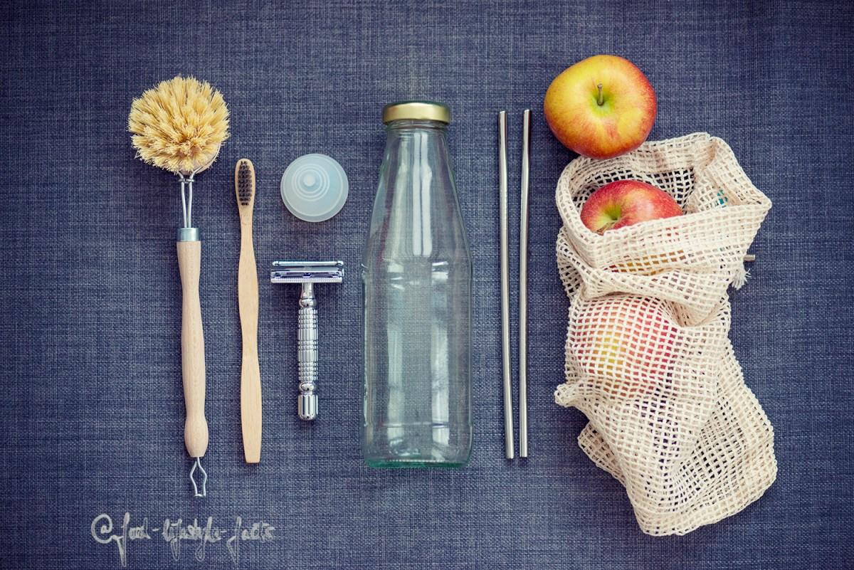 Hier ein paar Möglichkeiten Plastikmüll zu vermeiden in einem Bild zusammengestellt.