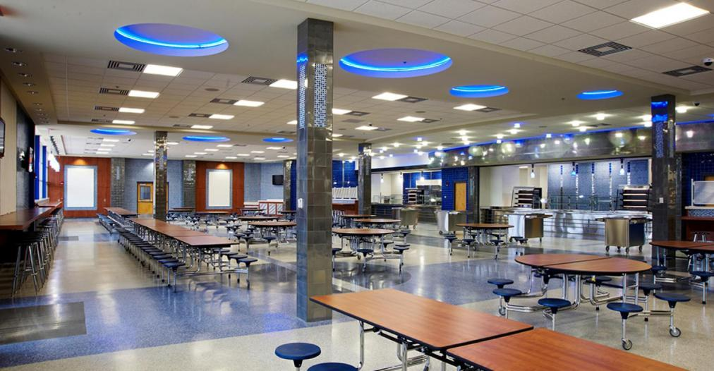 12 cool high school cafeterias | Food Management