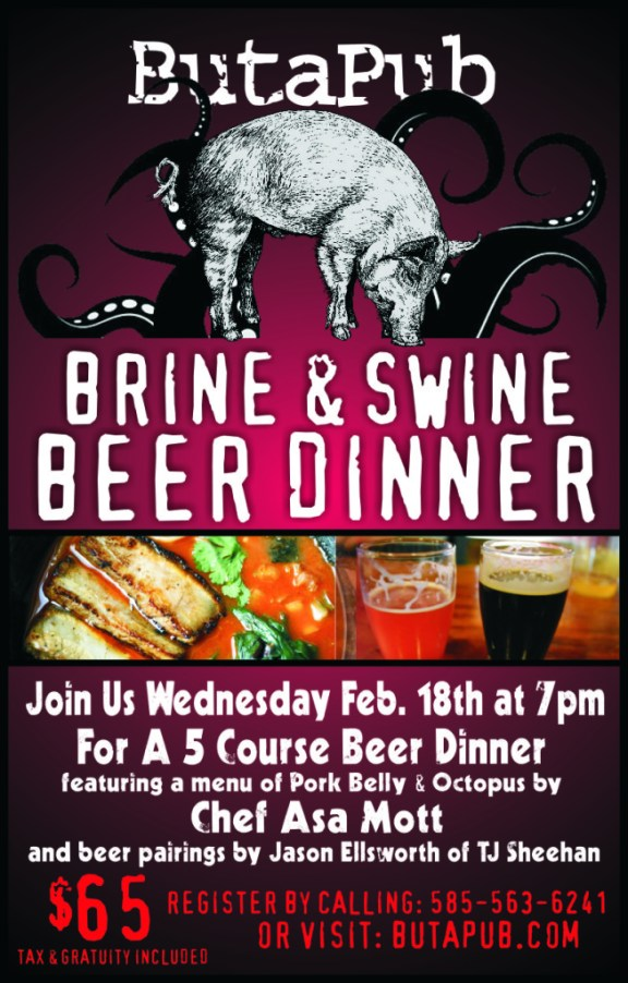 ButaPub Beer Dinner