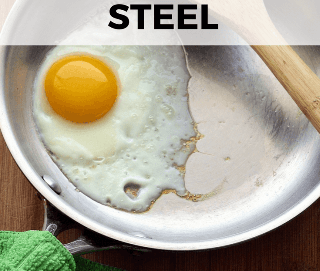 Learn The Method And Tips For How To Cook Fried And Scrambled Eggs In Stainless Steel