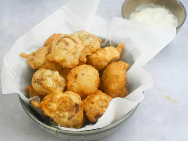 Champignons in bierbeslag | Foodaholic.nl