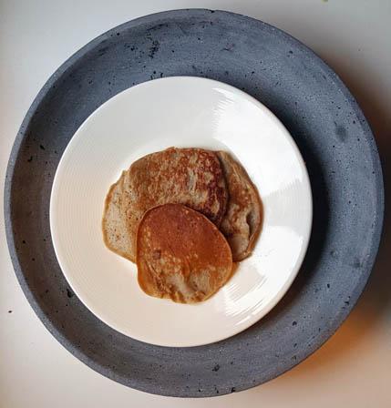 Banaan- ei pannenkoekjes | Foodaholic.nl