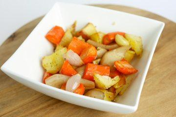 Groente uit de oven met peer | Foodaholic.nl
