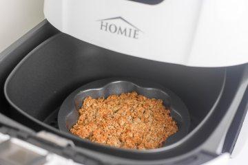 Appelcrumble uit mijn Homie Airfryer   Foodaholic.nl