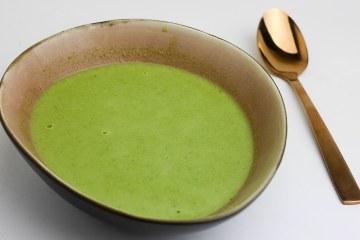 Doperwtensoep met spinazie | Foodaholic.nl