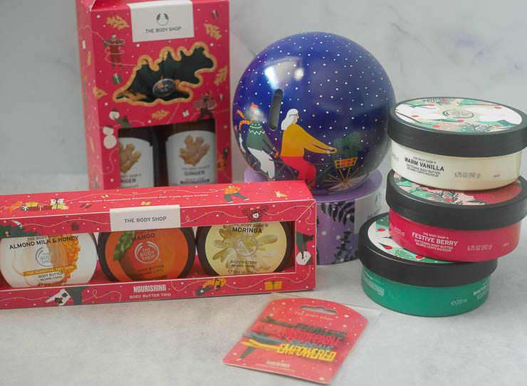 Kerst met The Body Shop | Foodaholic.nl