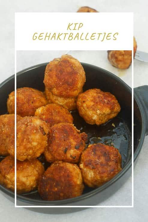 Kipgehaktballetjes  | Foodaholic.nl