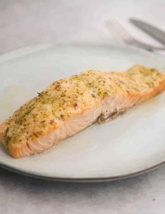 Zalm met Parmezaanse kaas | Foodaholic.nl