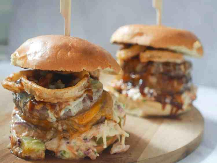 Fantastische double cheeseburger | Foodaholic.nl