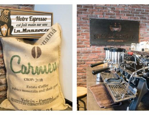 Single Estate Coffee - machine