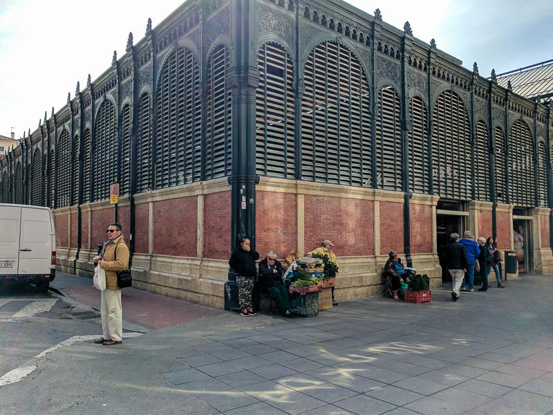 Málaga - Mercado Central de Atarazanas