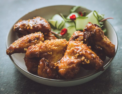 Ike's Vietnamese Fish Sauce Chicken Wings