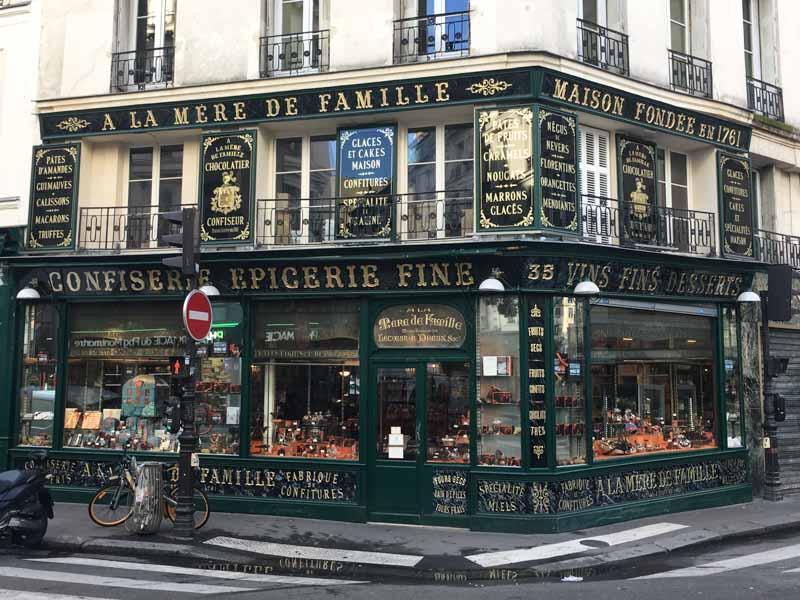 Meer Parijs gebak: a la mere de famille