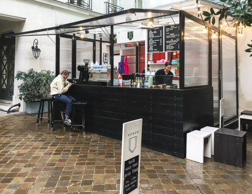 Goede koffie in Parijs - Honor