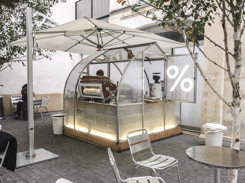 Goede koffie in Parijs - Percent Arabica