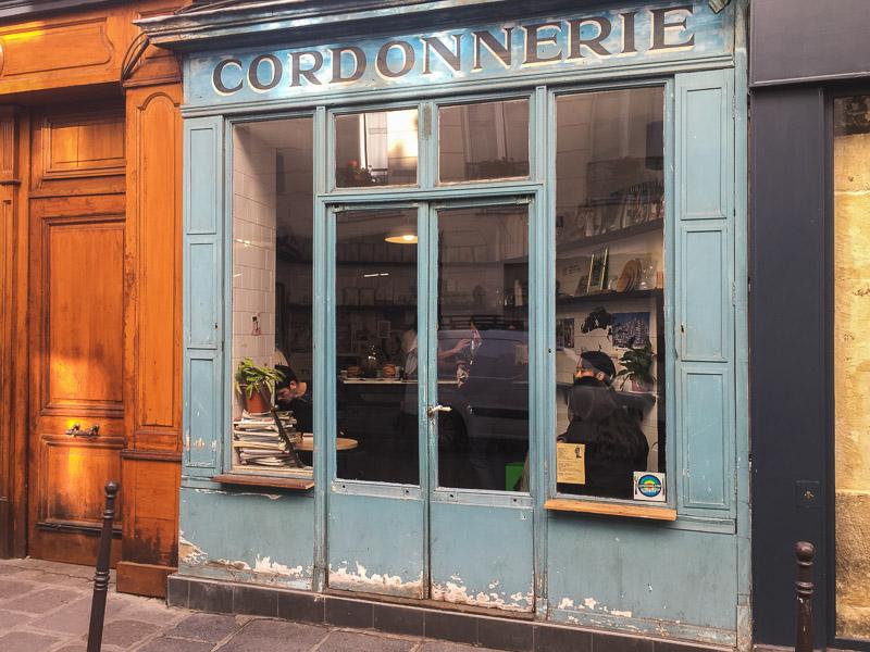 Goede koffie in Parijs - Boot Café