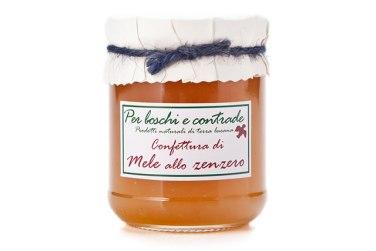 confettura extra di mele allo zenzero marmellata di mele allo zenzero boschi e contrade confettura italiana marmellata italiana basilicata lucania