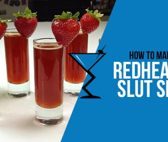 Video Credit Tipsy Bartender Estimated Nutritional Information Nutrition Facts Red Headed Slut Shot
