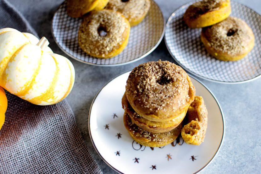 Baked Pumpkin Doughnuts