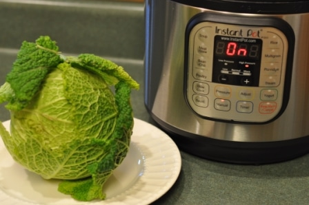 Savoy Cabbage In The Instant Pot Easy Healthy And Delicious