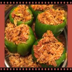 Bell Peppers – stuffed with meat and rice