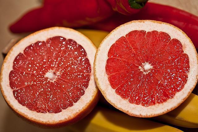 nutrition facts of grapefruit