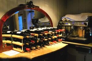 Bishop's Dining Room wine rack, Norwich