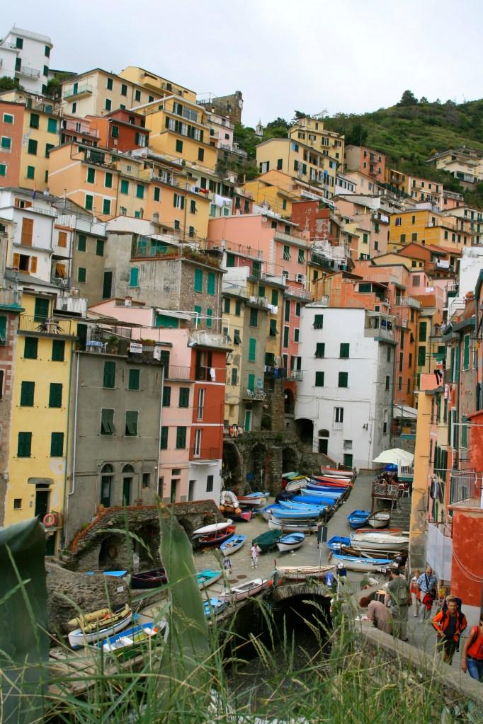 The Cinque Terre in Liguria