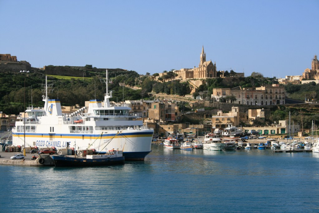 Tmun in Mgarr harbour, Gozo