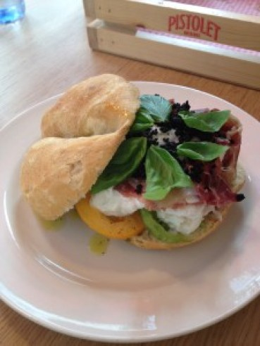 Sandwich at Pistolet Original