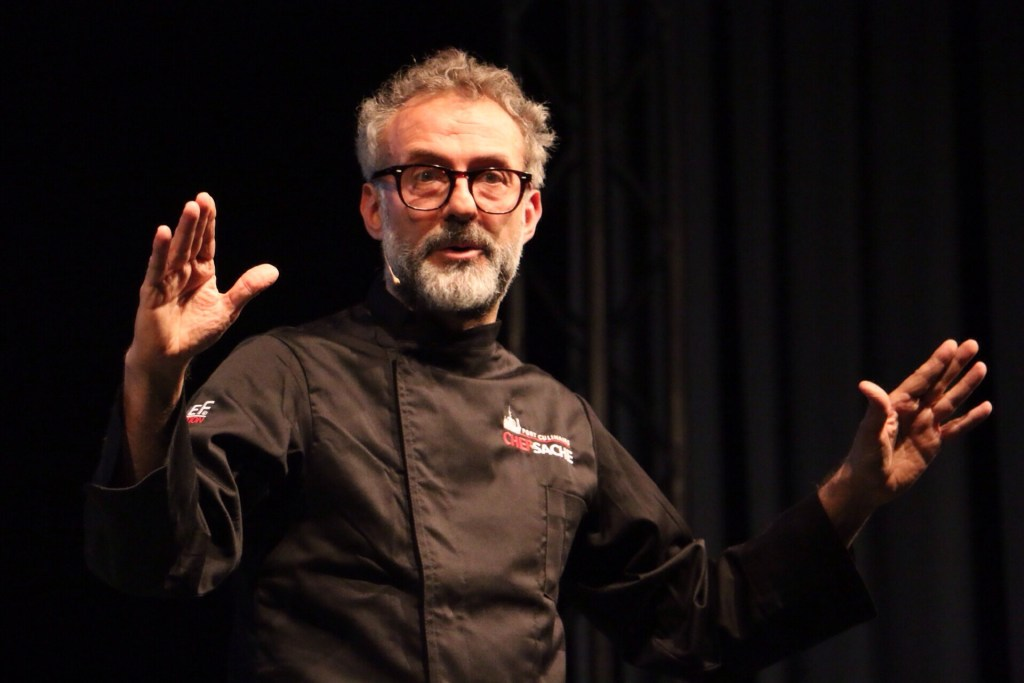Massimo Bottura's soup kitchen is going viral