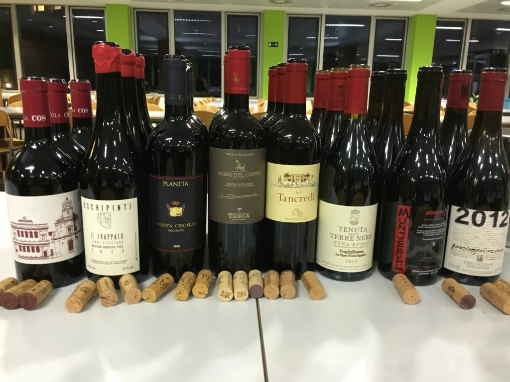 A tour of Sicily through its wines