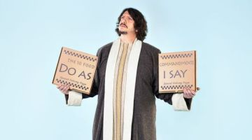 Food writers: Jay Rayner and the Ten Food Commandments