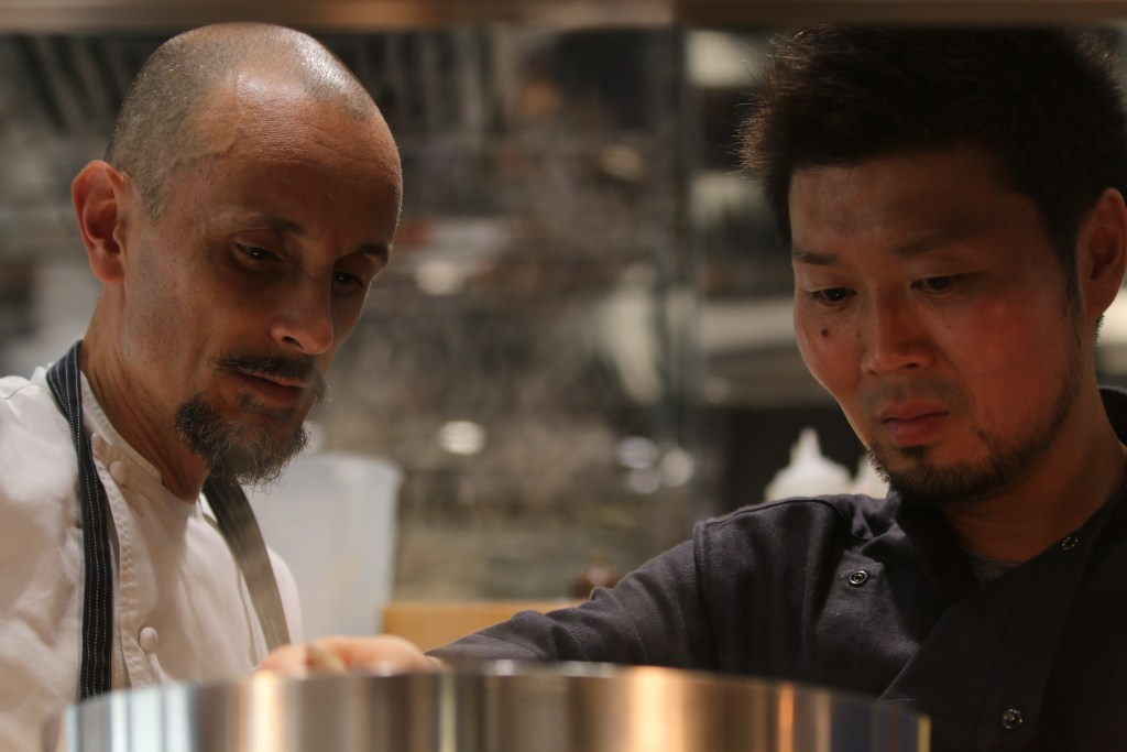 Tokyo meets Alba in unique four hands dinner between Enrico Crippa and Zaiyu Hasegawa at Piazza Duomo