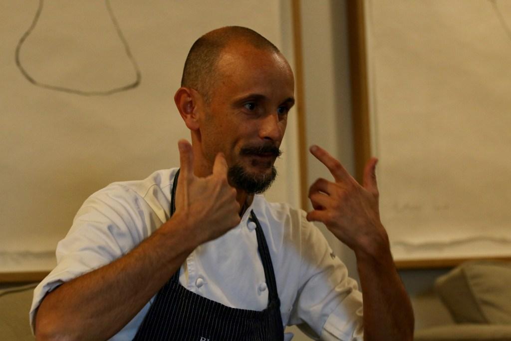 "Enrico Crippa: ""I am no longer afraid of the moments when I am not creative"""
