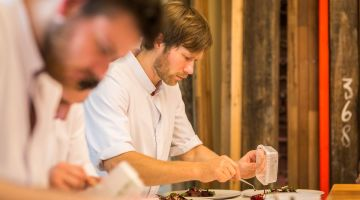 Rasmus Kofoed of Copenhagen restaurant Geranium latest chef to cook at Villa Louise