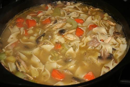 Healthy Turkey Noodle Soup