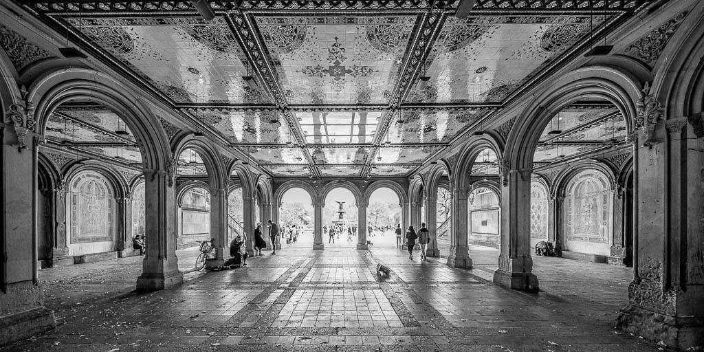 NYC_Central Park, Bethesda Terrace.