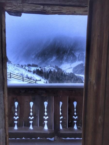 Blick aus dem Fenster der Kalchkendlalm