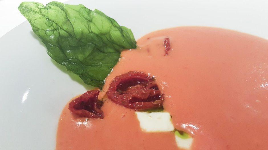 Tomato soup Freixa Tradiciño