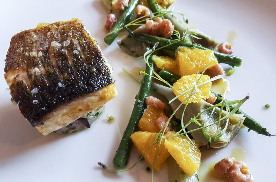 Sea bass House of Tides
